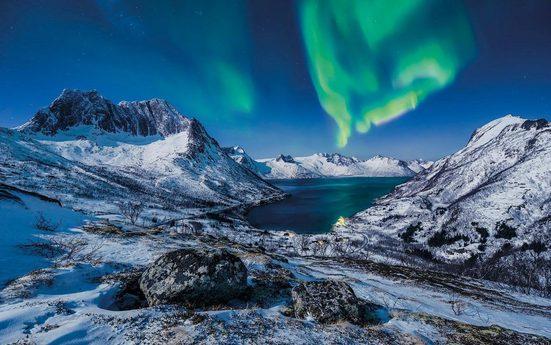 Vliestapete »I LOVE Norway«, naturalistisch