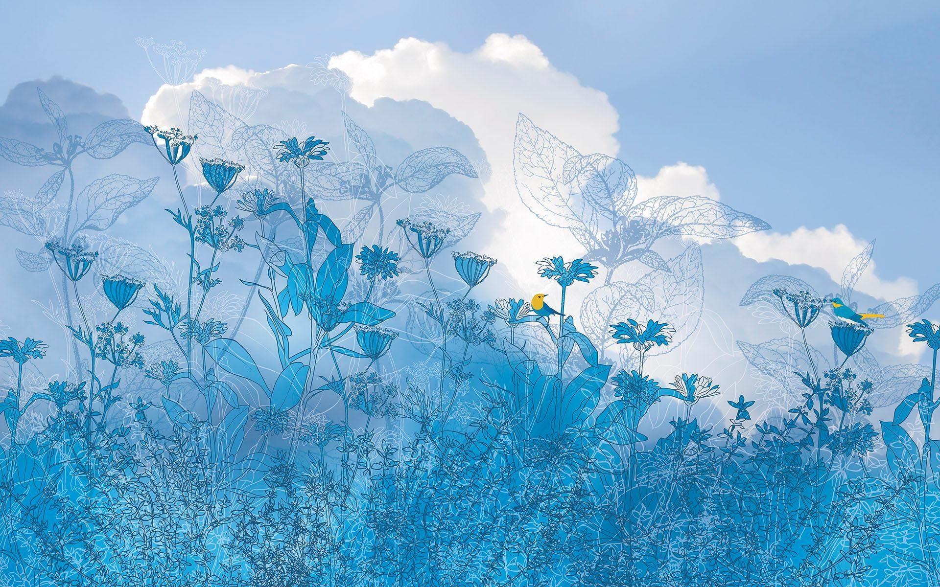 Komar Fototapete »Blue Sky«, 400/250 cm