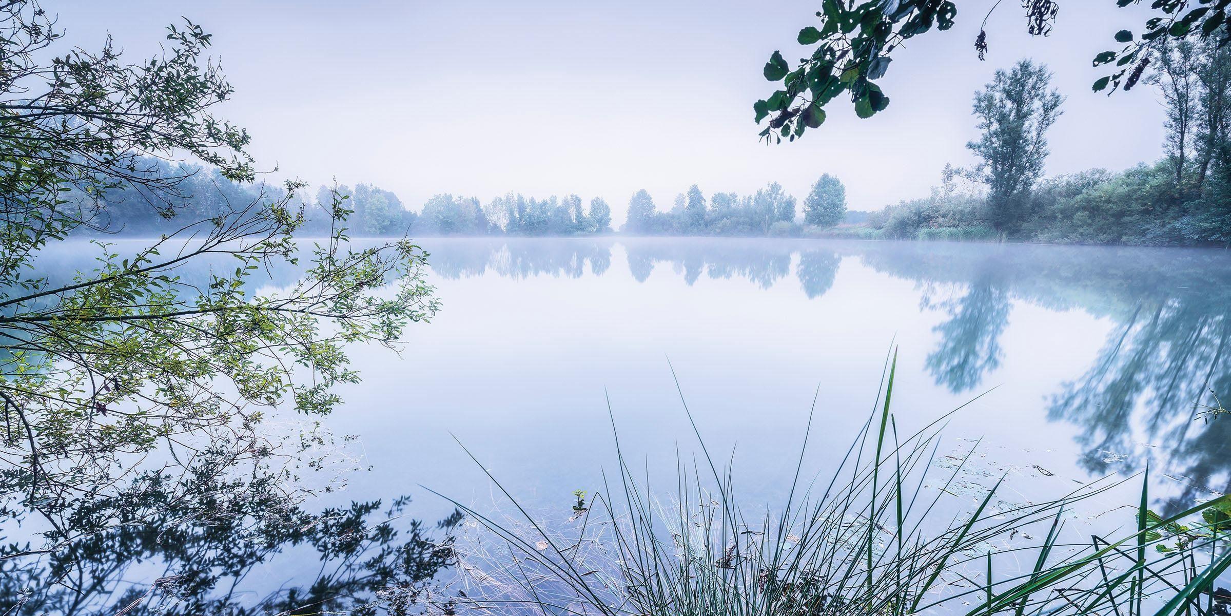 Komar Fototapete »Morning View«, 200/100 cm