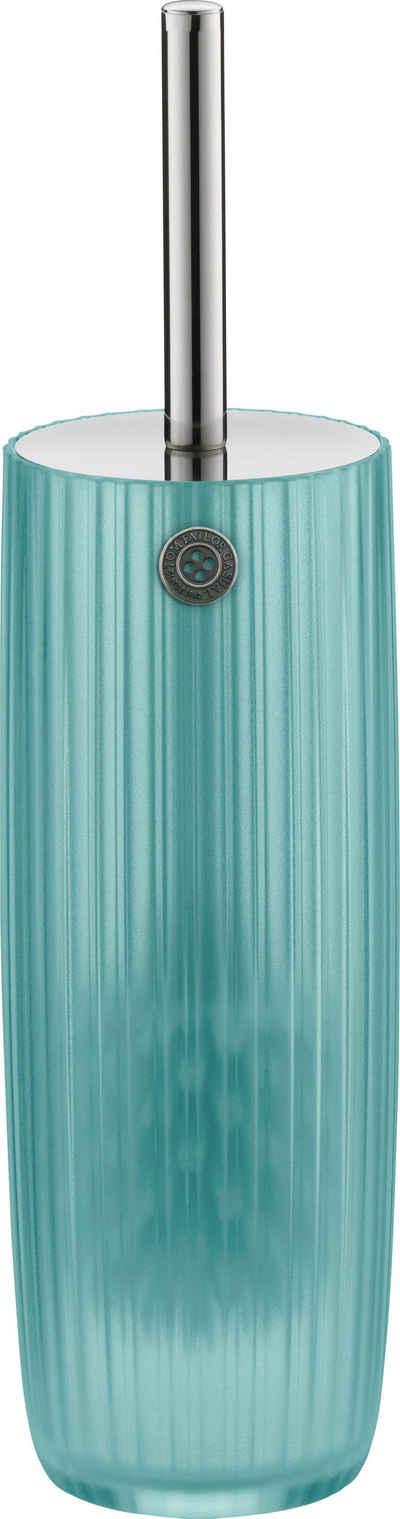 WC-Garnitur »SHINY STRIPES«, TOM TAILOR, in transparenter Optik