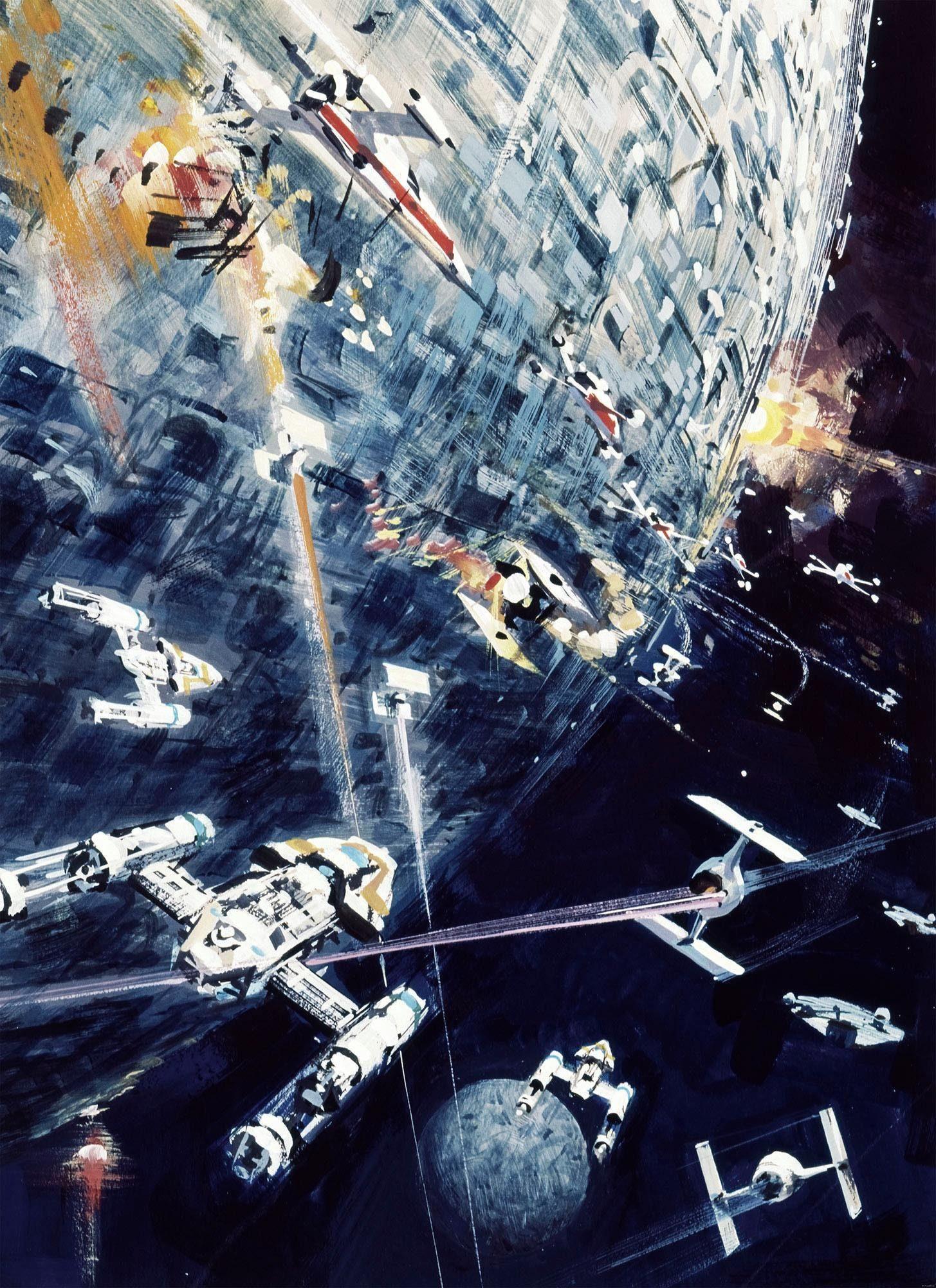 Komar Fototapete »Star Wars Classic Dogfight«, 200/275 cm