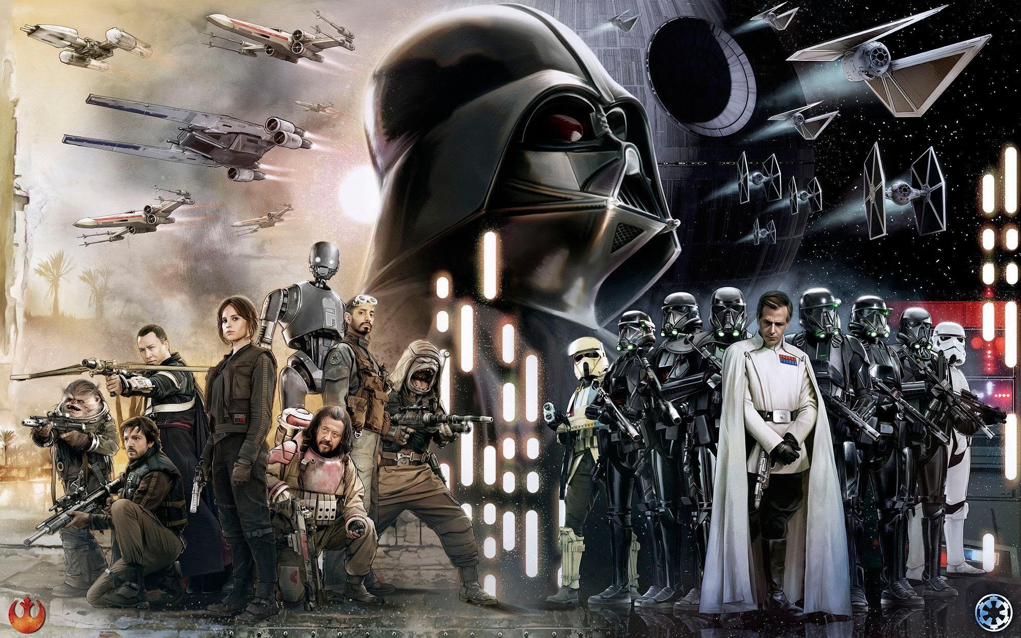 Komar Fototapete »Star Wars Collage«, 400/250 cm