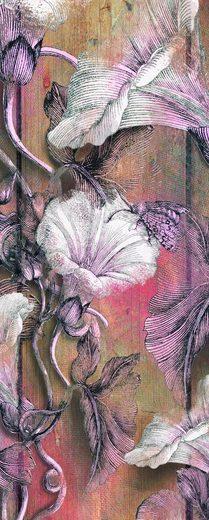 Vliestapete »Bloomin Panel«, naturalistisch