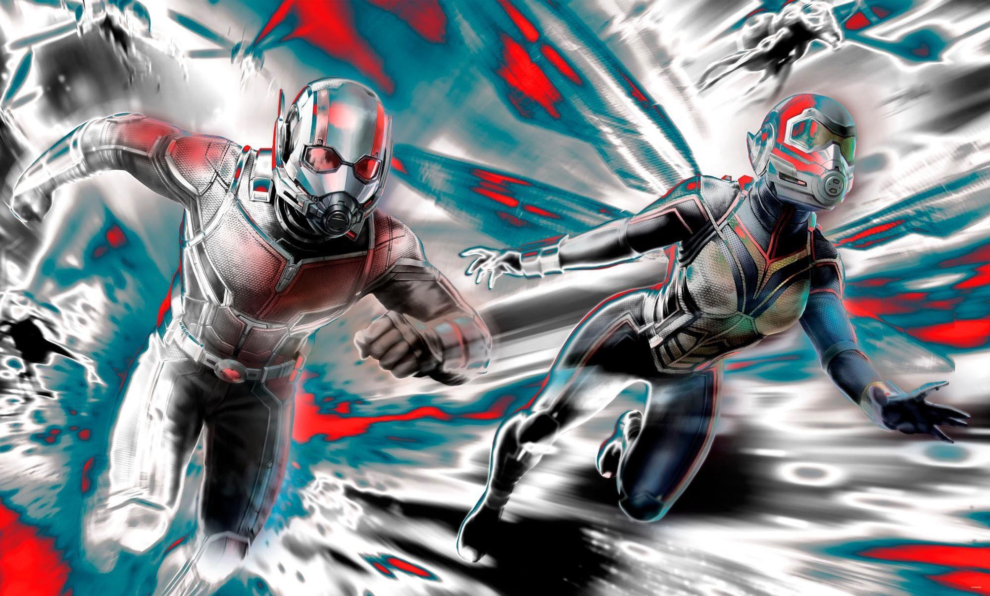 Komar Fototapete »Ant-Man - Microverse Color«, 200/120 cm
