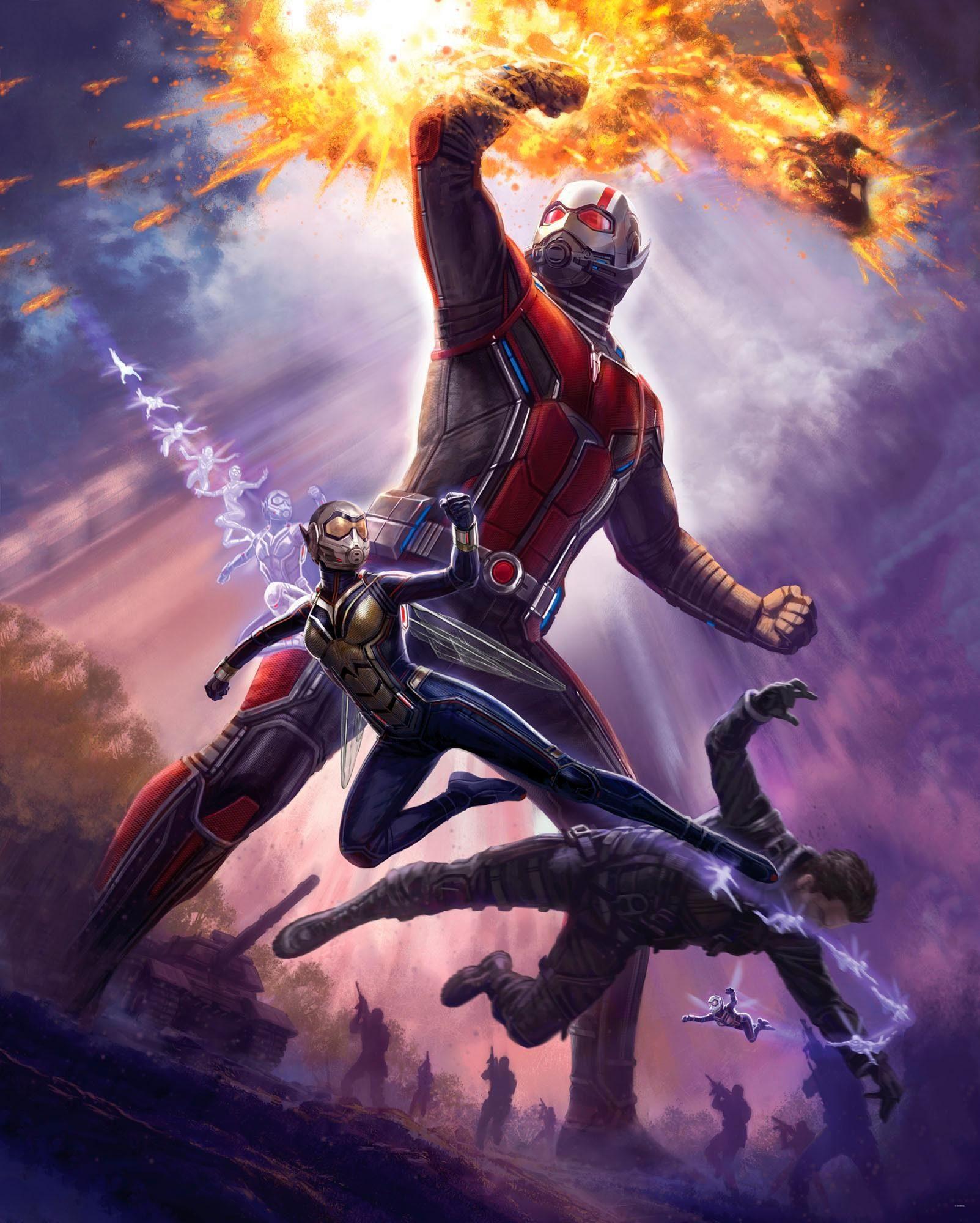 Komar Fototapete »Ant-Man - Giant Man«, 200/250 cm