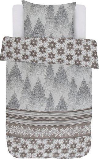 Wendebettwäsche »Winterwonder«, Vanezza, mit winterlichem Druck