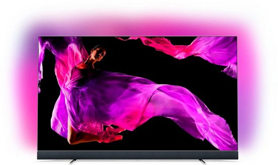 Philips Premium 65OLED903/12 OLED-Fernseher (164 cm/65 Zoll, 4K Ultra HD, Smart-TV, Bowers & Wilkins Sound, USB-Recording)