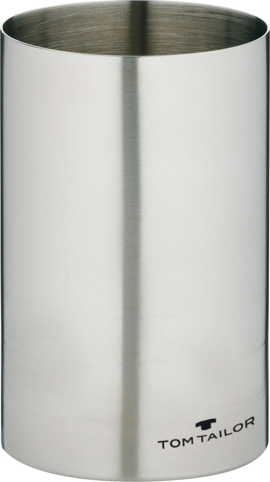 TOM TAILOR Zahnputzbecher »CLASSIC STEEL«