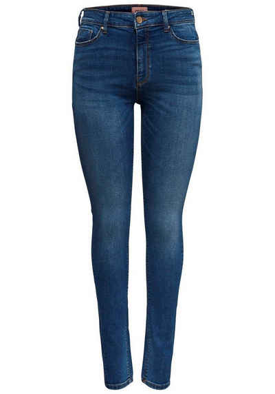 4Wards Jeans NEU Gr.44 Damen Stretch Dark Blau Used Denim Hose Slim Fit L32