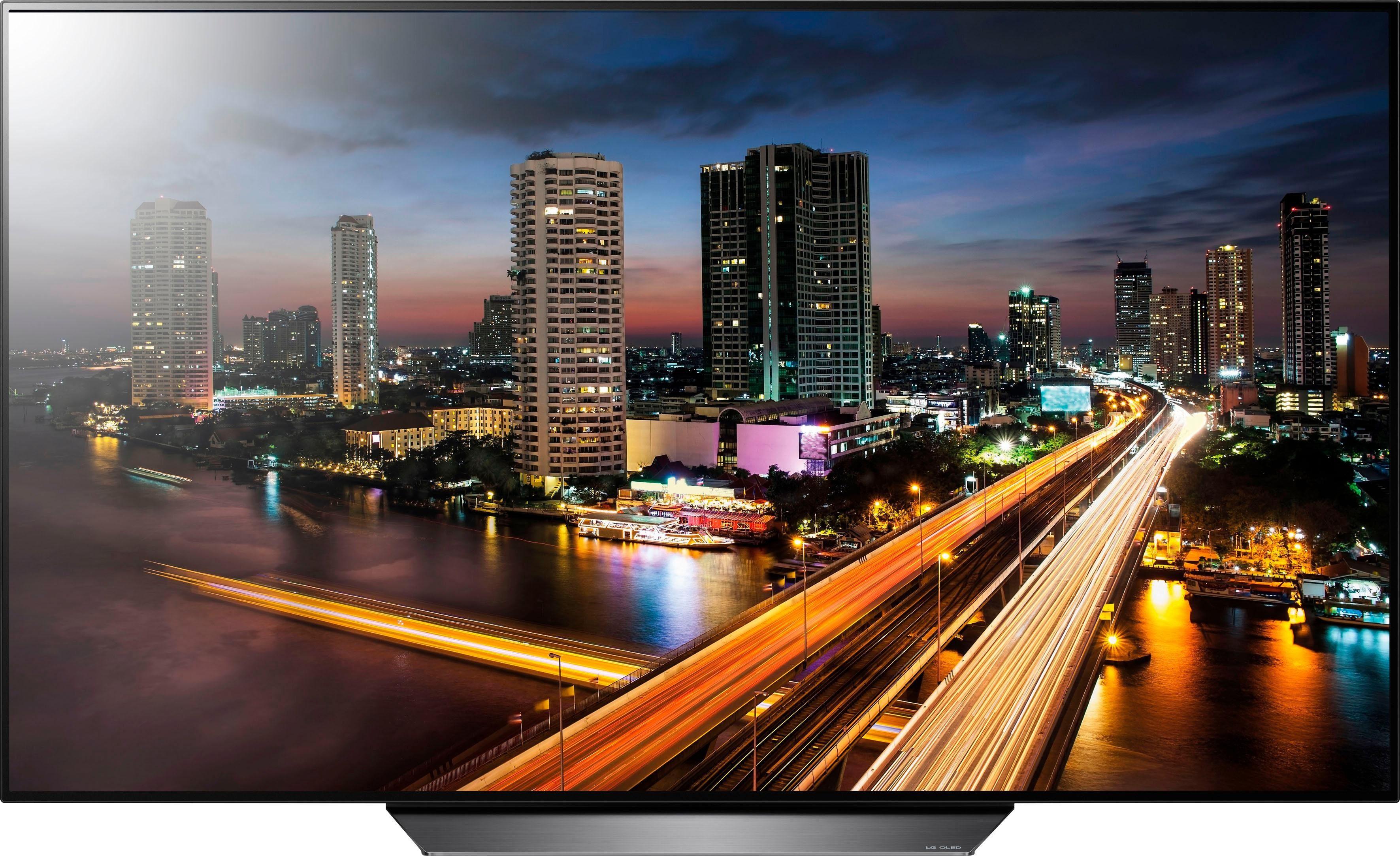 LG OLED65B8LLA OLED-Fernseher (164 cm/65 Zoll, 4K Ultra HD, Smart-TV)