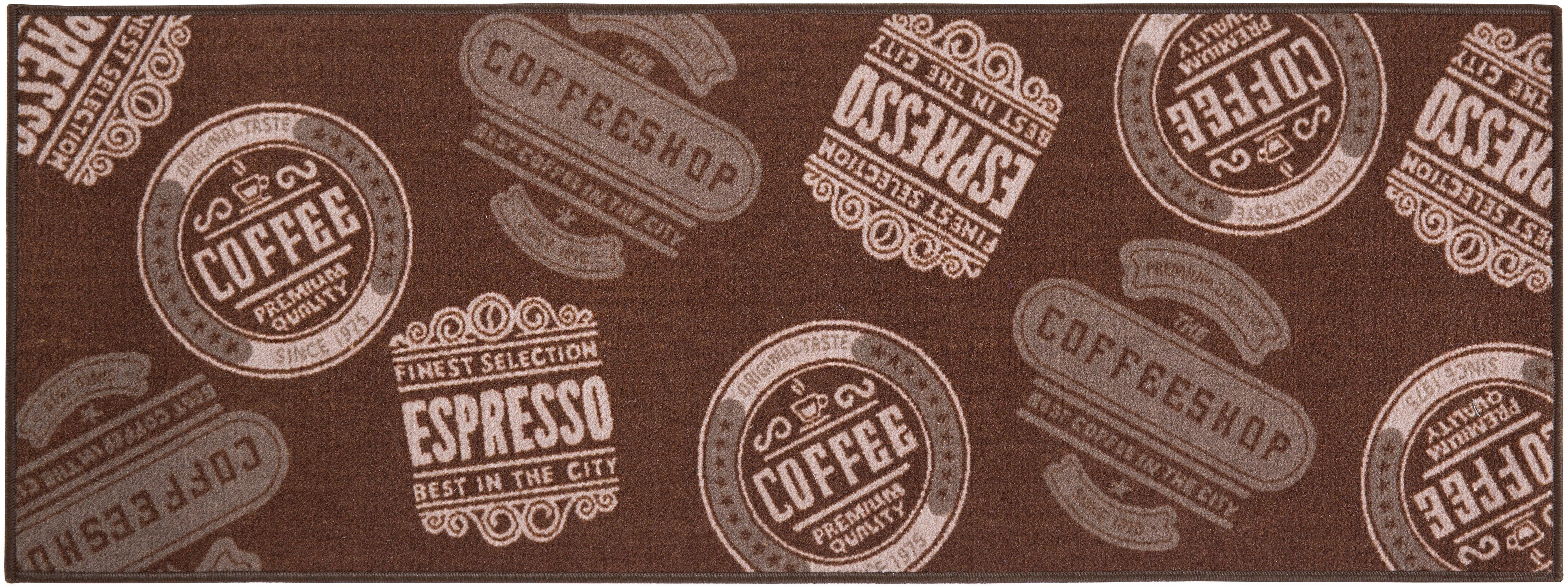 Küchenläufer »Coffeeshop«, Andiamo, rechteckig, Höhe 5 mm