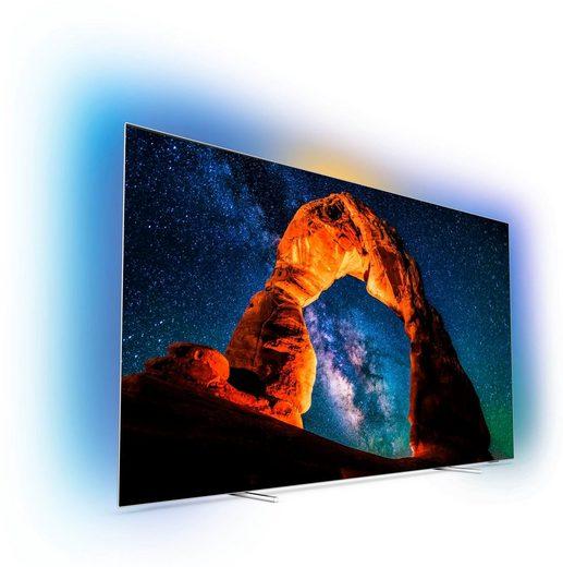 Philips Premium 55OLED803 OLED-Fernseher (139 cm/55 Zoll, 4K Ultra HD, Smart-TV, USB-Recording)