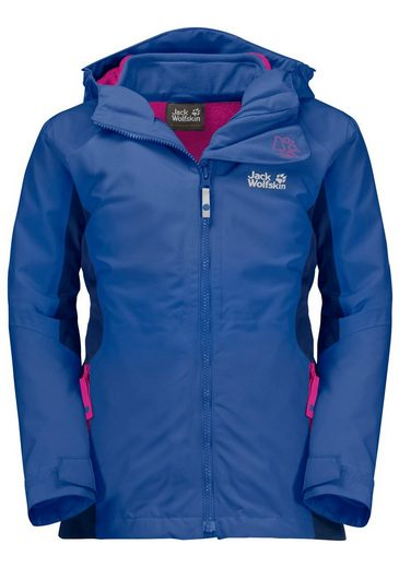 Jack Wolfskin 3-in-1-Funktionsjacke »G GRIVLA 3IN1 JKT«