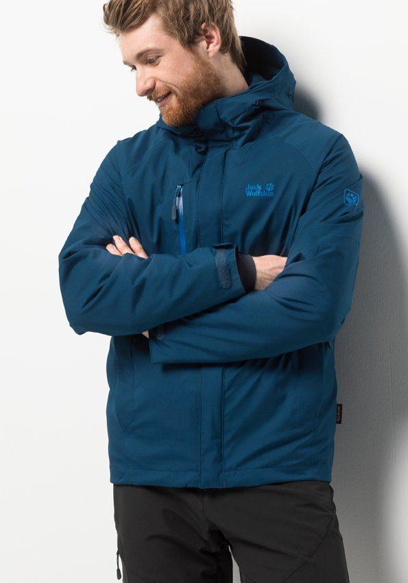 jack wolfskin troposphere herren blau
