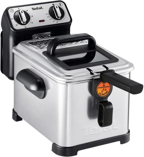 Tefal Fritteuse Filtra Pro Inox and Design FR5101, 2300 W