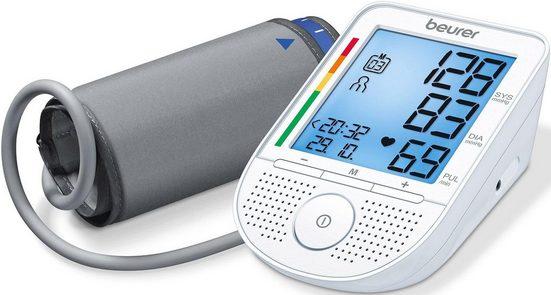 BEURER Oberarm-Blutdruckmessgerät BM 49, mit Sprachfunktion