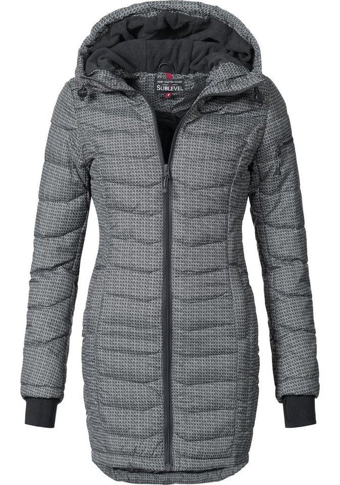 buy online e4fea 3dc00 Fresh Made Kurzmantel »44138A« sportlicher Winter Steppmantel mit  gefütterter Kapuze online kaufen | OTTO