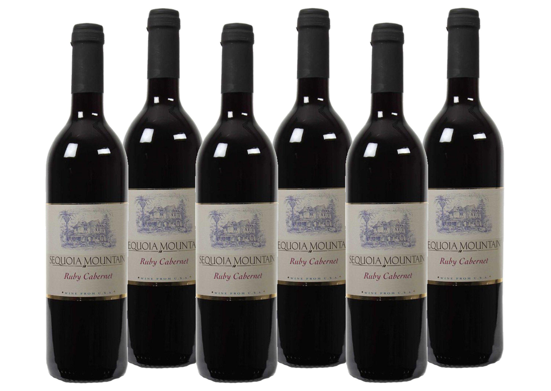 Rotwein aus Kalifornien »13 % - 6 x 0,75 l - Sequoia Mountain 2016«