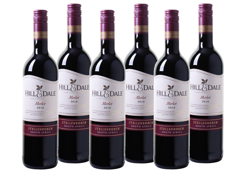 Rotwein aus Südafrika »Hill & Dale - Merlot - Stellenbosch«