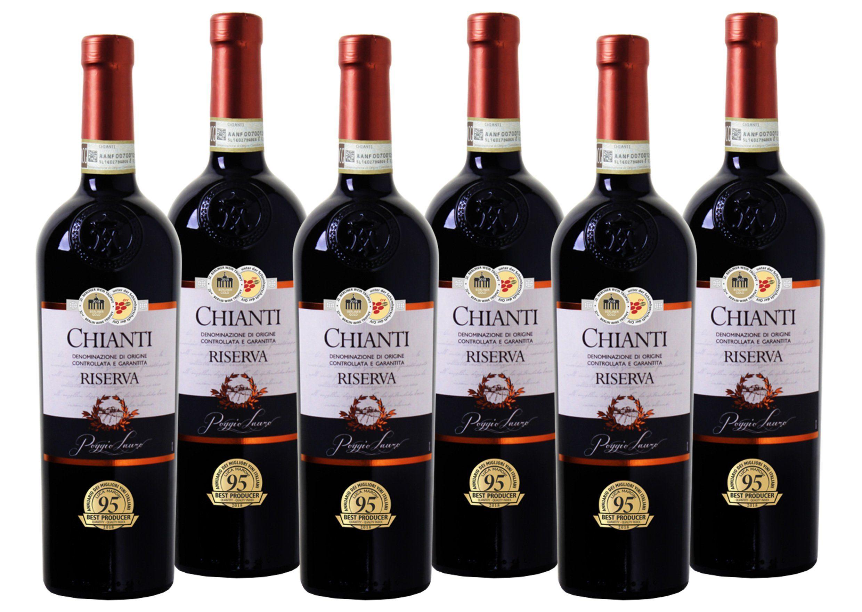 Rotwein aus Italien »13 % - 6 x 0,75 l - Poggio Lauro 2015«