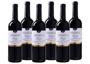 Rotwein aus Frankreich »13 % - 6 x 0,75 l - Pierre Baptiste 2017«