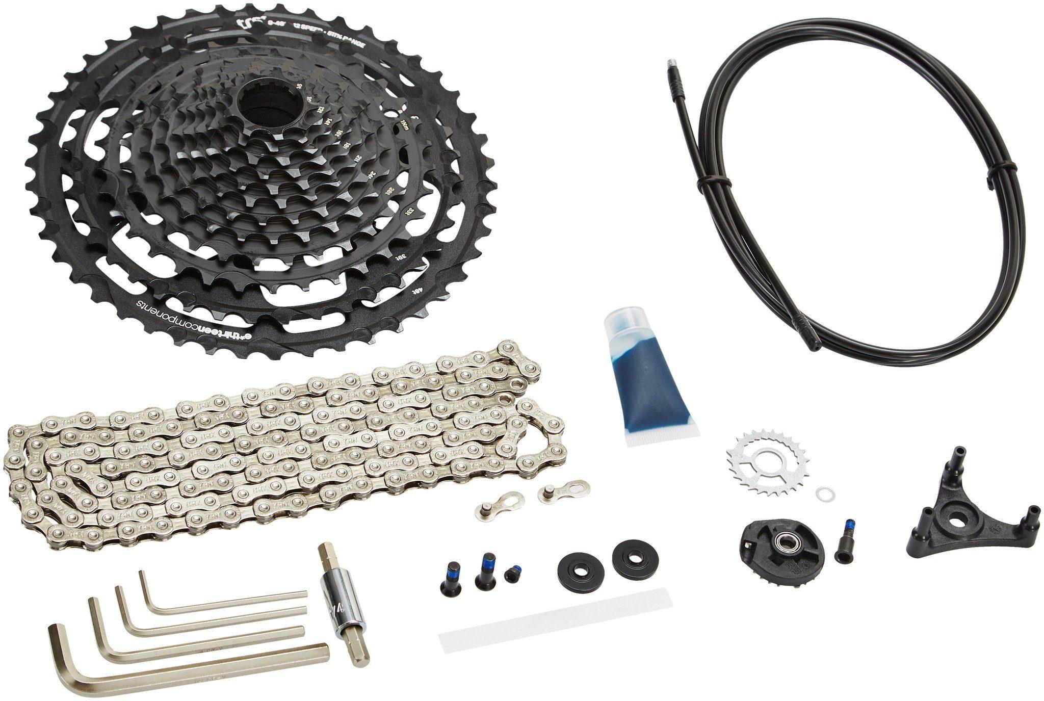 e*thirteen Kurbel »TRS+ 12-fach Upgrade Kit«