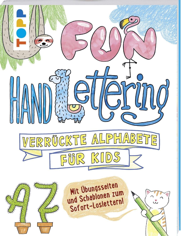 """Topp Buch """"Fun Handlettering"""" 80 Seiten"""