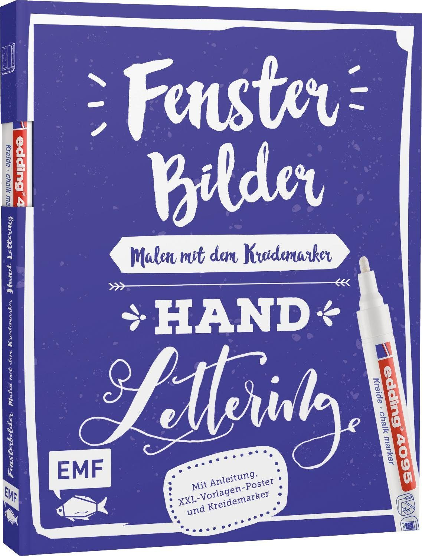 """EMF Buch """"Fensterbilder - Handlettering"""" 8 Seiten"""