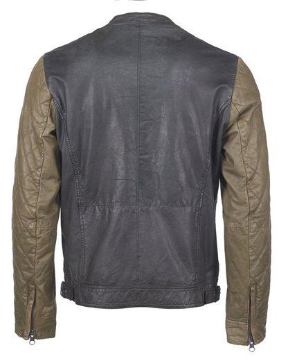 Maze Biker-Jacke mit zwei Innentaschen »Doncaster«