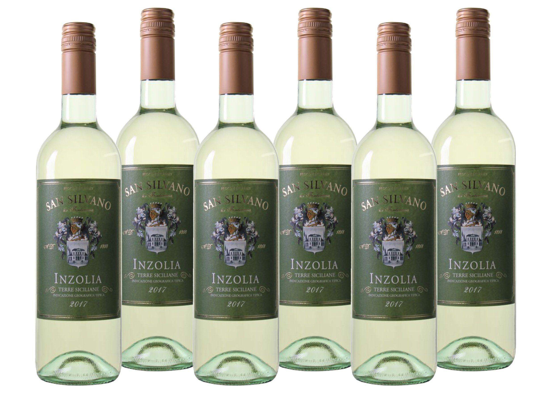 Weißwein aus Italien »0.12 6 x 0,75 Liter - San Silvano 2017«