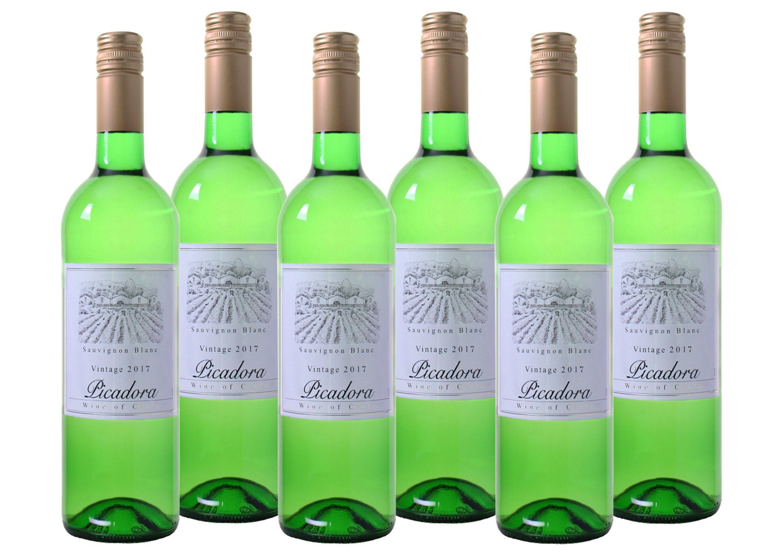 Weißwein aus Chile »12,5% 6 x 0,75 Liter - Picadora 2017«