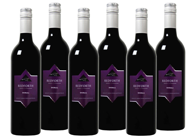 Rotwein aus Australien »13 % - 6 x 0,75 l - Redforth 2017«