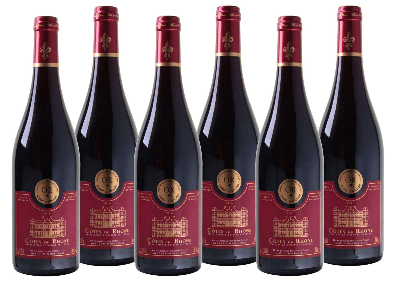 Rotwein aus Frankreich »13,5% 6 x 0,75 Liter - Joseph Castan 2016«