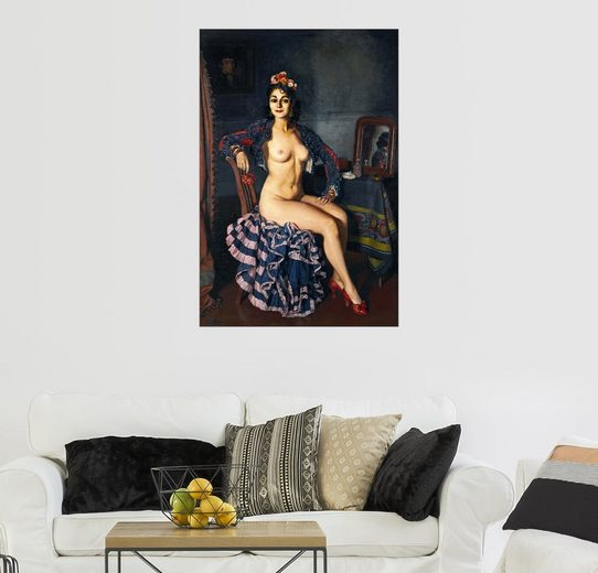 Posterlounge Wandbild - Ignacio Zuloaga Zabaleta »La Oterito«