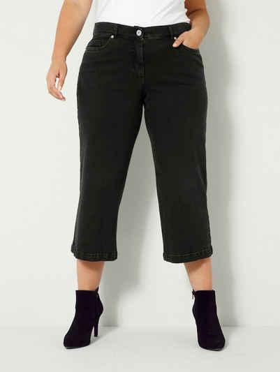 Sara Lindholm by HAPPYsize 5-Pocket-Jeans aus leicht elastischem Denimmaterial