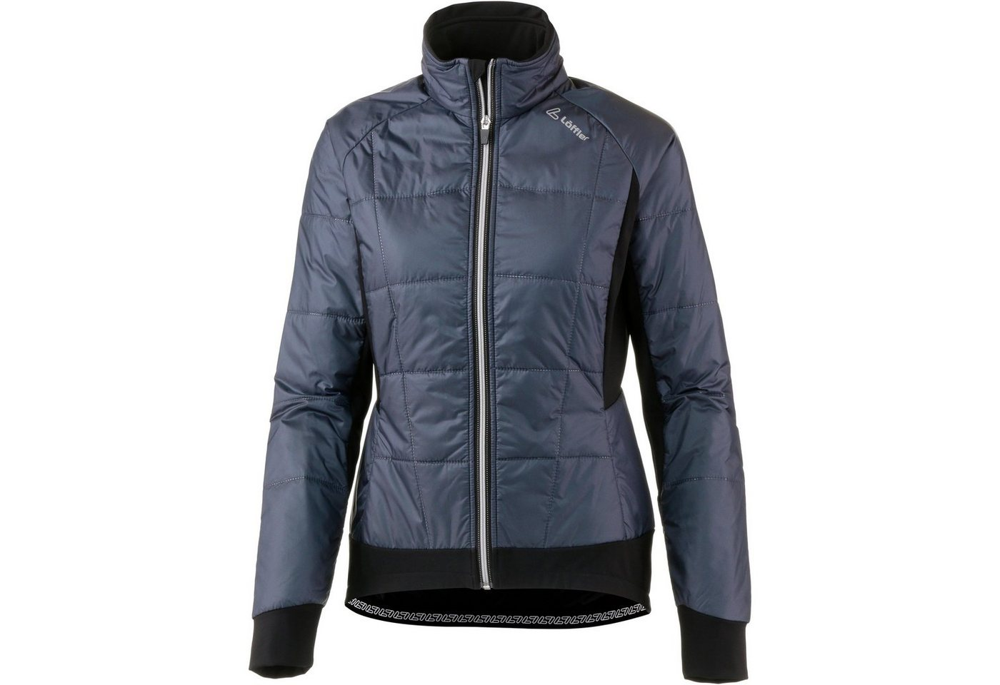 Löffler Fahrradjacke »Iso-Jacke Primaloft Mix« | Sportbekleidung > Sportjacken > Fahrradjacken | Grau | Polyester - Polyamid - Elastan | Löffler