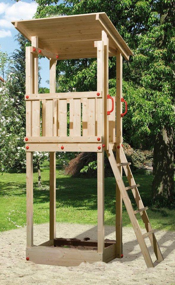 Sehr WEKA Spielturm »Tabaluga«, BxTxH: 154x124x299 cm, inkl. Sandkasten BF24