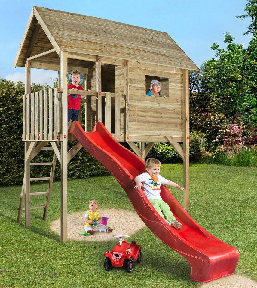 WEKA Spielturm »Tabaluga«, BxTxH: 125x235x332 cm inkl. Rutsche
