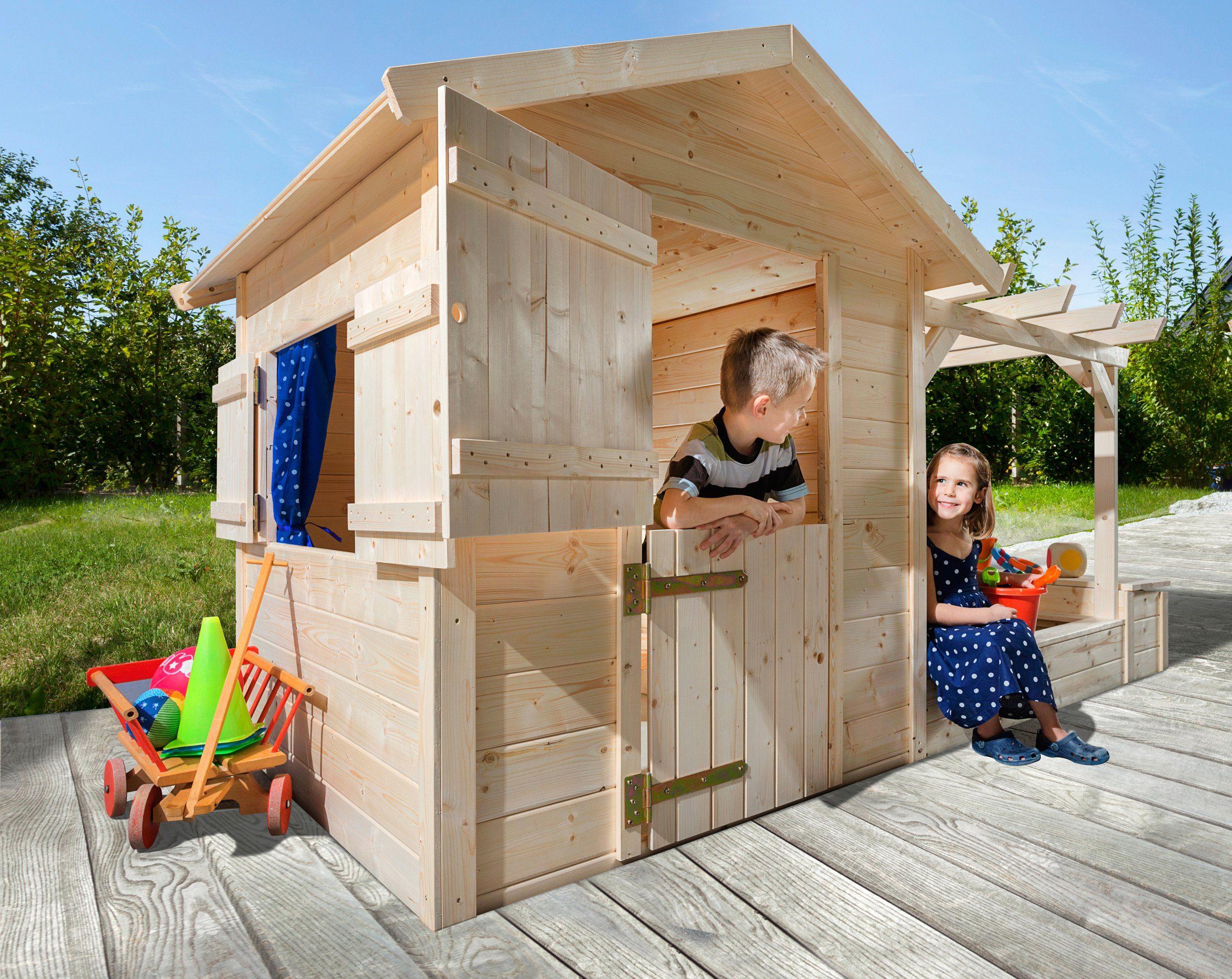Spielhaus Mit Sommerküche : Weka spielhaus tabaluga« bxt cm inkl sandkasten