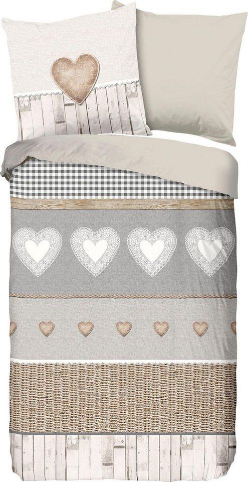 wendebettw sche chalet good morning mit. Black Bedroom Furniture Sets. Home Design Ideas