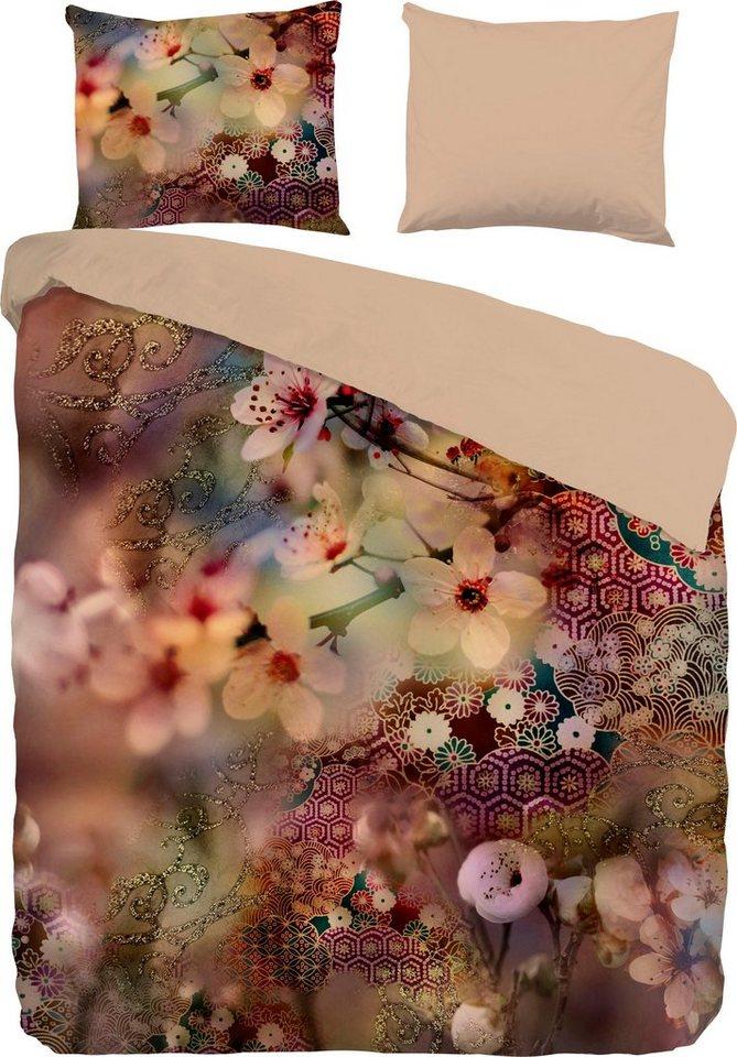 wendebettw sche blossom pure luxury collection mit blumen online kaufen otto. Black Bedroom Furniture Sets. Home Design Ideas