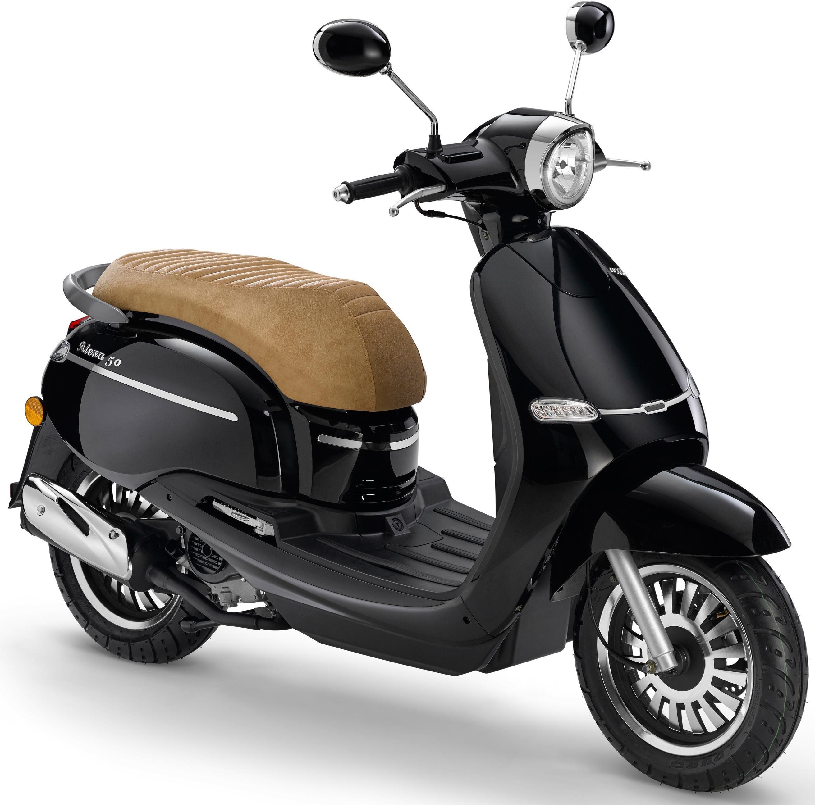 Luxxon Motorroller »Alexa«, 50 ccm, 45 km/h, Euro 4