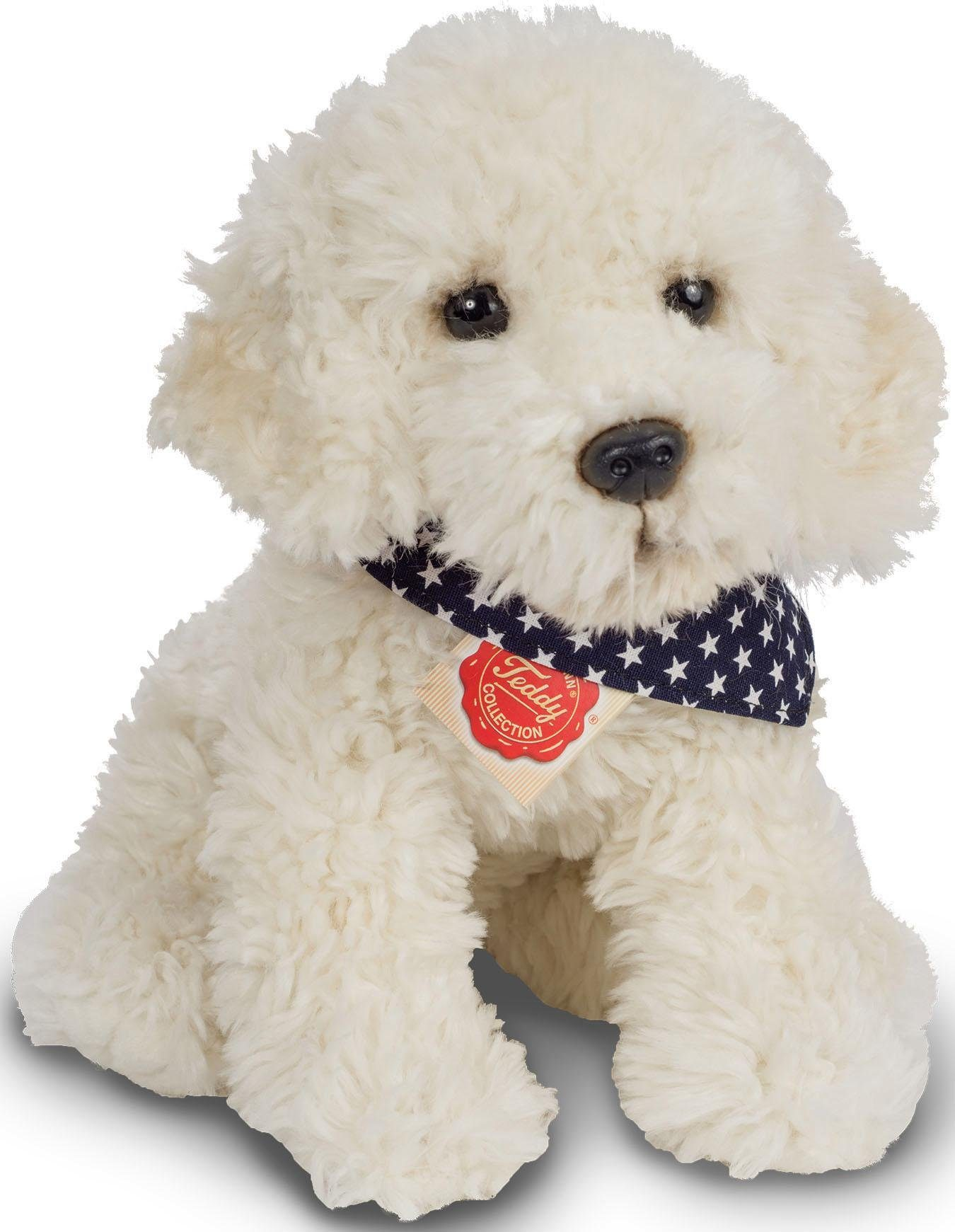 Teddy Hermann® COLLECTION Plüschtier Hund, »Labradoodle sitzend, 30 cm«