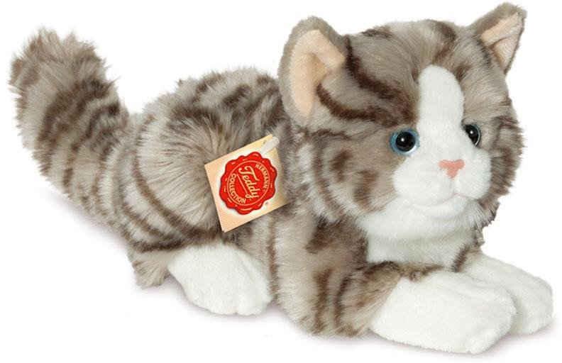 Teddy Hermann® Kuscheltier »Katze liegend, 20 cm«