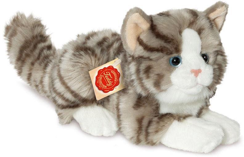 Teddy Hermann® COLLECTION Plüschtier, »Katze liegend, 20 cm«