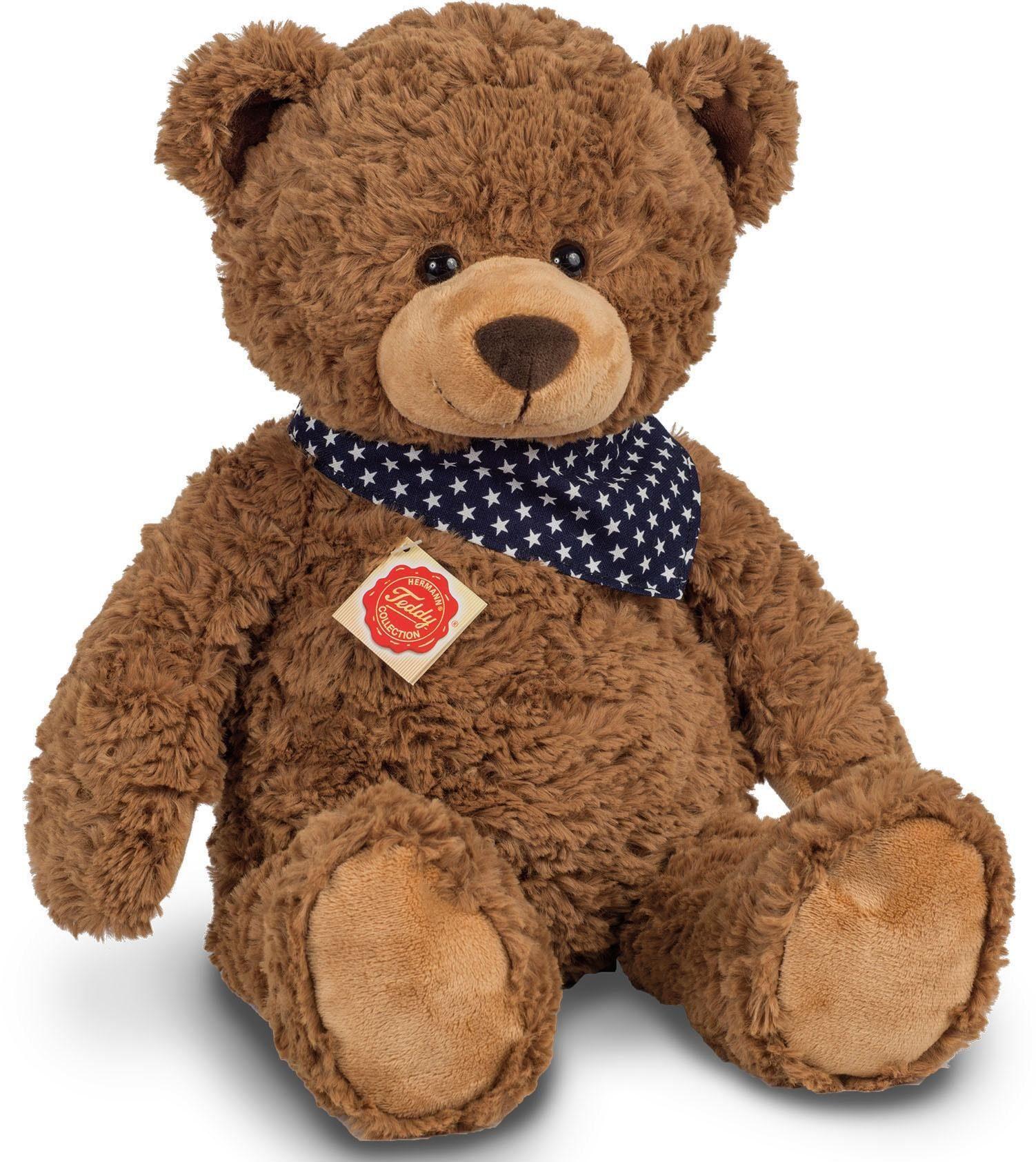 Teddy Hermann Stofftier Kuscheltier Bär beige ca 20 cm. Stofftiere