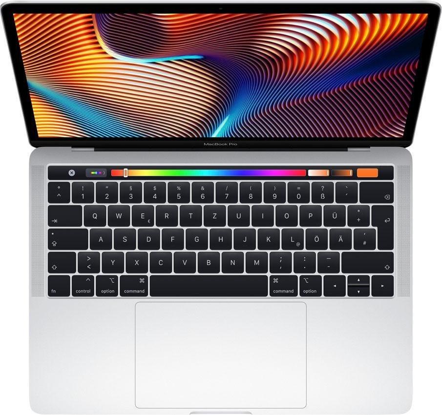 MacBook Pro (2018) Touch Bar Notebook (33,78 cm/13,3 Zoll, Intel Core i5, Iris Plus Graphics, 256 GB SSD)