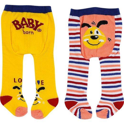 Zapf Creation® Puppenkleidung »BABY born® Strumpfhose 2x 43 cm, hellblau«