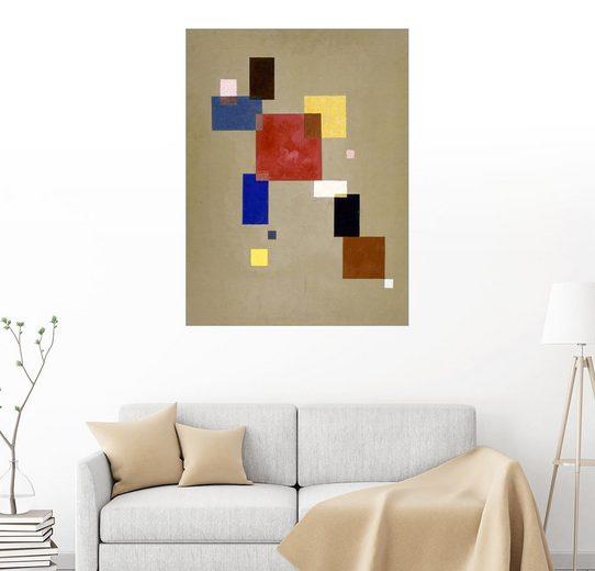 Posterlounge Wandbild - Wassily Kandinsky »13 Rechtecke«