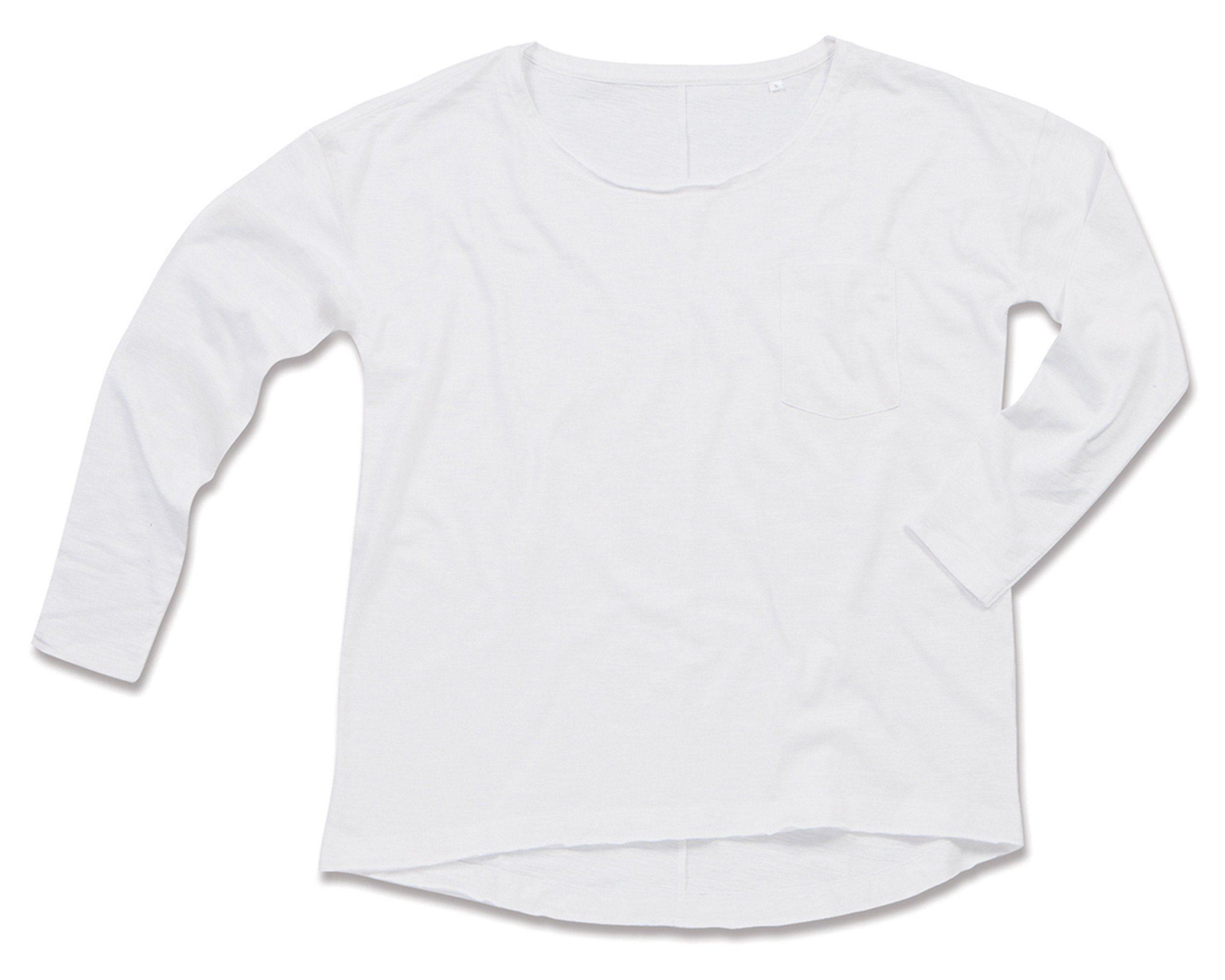 Stedman Langarmshirt mit Oversize-Passform